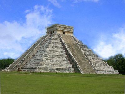 Pirámide maya de Chichen Itza
